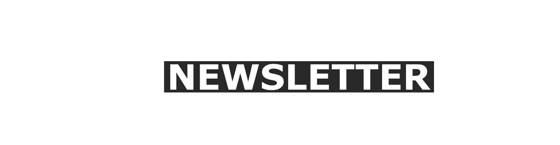 NEWSLETTER - Anmeldung