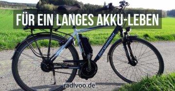 langes E-Bike Akku-Leben