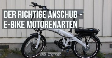 E-Bike Motorenarten