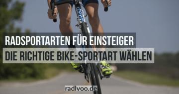 Radsport für Einsteiger