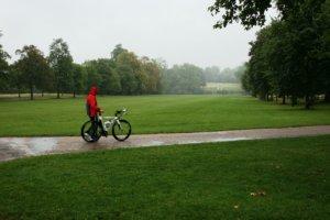 Regen Parkweg