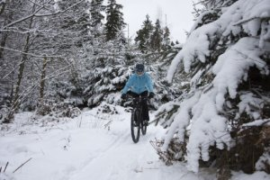 Mountainbike Winter